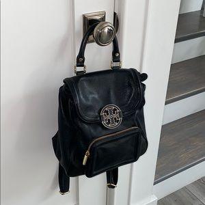 Tory Burch Black Backpack